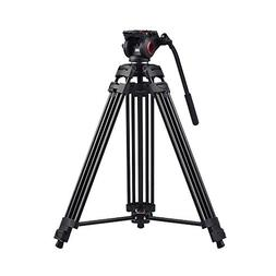 miliboo MTT601A Heavy Duty Aluminum Video Tripod with Middle