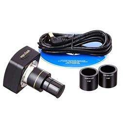 AmScope 3.0 MP USB2.0 Microscope Digital Camera + Software 3