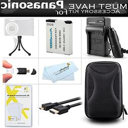 Must Have Accessory Kit For Panasonic ZS50, DMC-ZS45K, DMC-Z