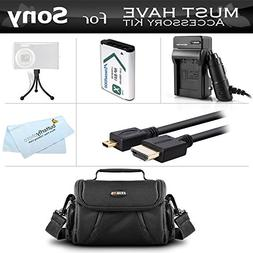 Must Have Accessory Bundle Kit For Sony HDR-AS30V, HDR-AS10,
