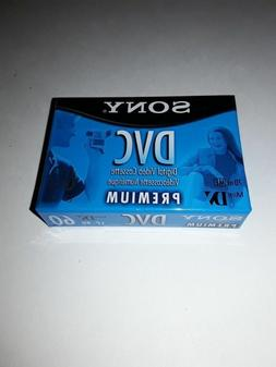 NEW 3-Pack | Sony DVC  Premium Tapes -  SP 60 Min