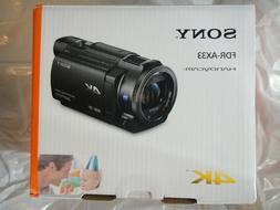 NEW SONY FDR-AX33 4K HANDYCAM VIDEO CAMERA CAMCORDER BRAND N