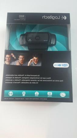 The new logitech C920E HD Pro USB 1080p webcam is black.Widescreen Video Calling