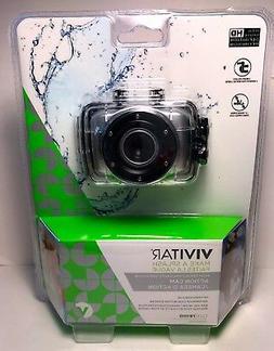 NEW MAKE A SPLASH  VIVITAR ACTION CAM HD VIDEO- MODEL DVR781