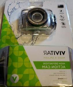 NEW Vivitar DVR783HD HD Waterproof Action Video Camera Camco