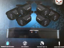 NIB Night Owl 8 Channel 1080p HD Wired Video SecuritySystem