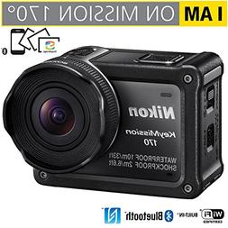 Nikon 26514B KeyMission 170 4K Ultra HD Action Camera with B