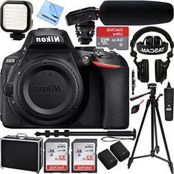 Nikon D5600 24.2 MP DX-Format Full HD 1080p DSLR Camera  w/T