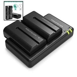 NP-F550 RAVPower Battery Charger for Sony NP F970, F750, F77