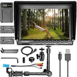 Neewer 7 inch NW759 HD Camera Monitor Kit:1280x800 IPS Scree