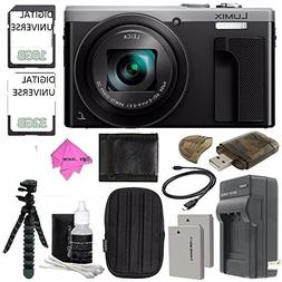 Panasonic Lumix DMC-ZS60 Digital Camera  + 32GB + 16GB + Rec