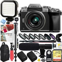 Panasonic LUMIX G7 Interchangeable Lens 4K Ultra HD Silver D