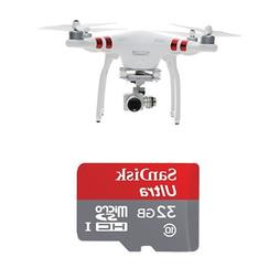 DJI Phantom 3 Standard Quadcopter w/32GB SanDisk Memory Card