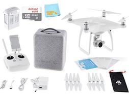DJI Phantom 4 Quadcopter Drone Aircraft + SANDISK 32GB Micro