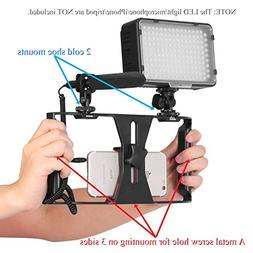 AWLux Phone Camera Video Cage Stabilizer Rig Lightweight And