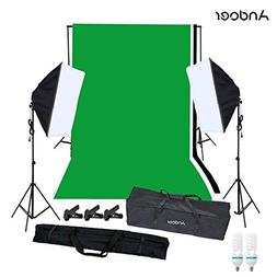Andoer Photo Video Studio Photography Continuous Lighting So