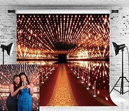 Allenjoy 10x10ft Photography Backdrop VIP Aisle Red Carpet B