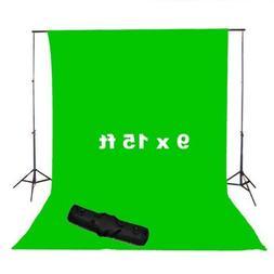 CowboyStudio Photography 9 x 15ft Chromakey Green Muslin Scr