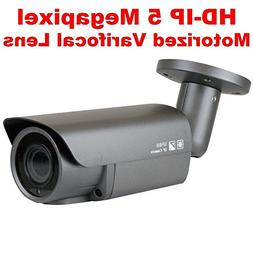 GW Security 5MP 2592 x 1920 Pixel 4X Optical Zoom H.265 Outd