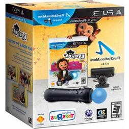 PLAYSTATION 3 EYEPET MOVE BUNDLE GAME + CONTROLLER + EYE CAM