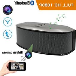 GS809 Wifi Hidden IP Cam Bluetooth Speaker, with 1920x1080 F