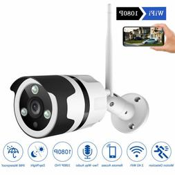 ZOSI 1080P Wireless WIFI IP Camera Onvif Outdoor Security Bu