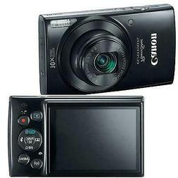PowerShot 190 IS 20 Megapixel Compact Camera - Black