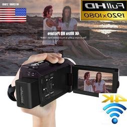 PRO 3 Inch Andoer 4K 1080P 48MP WiFi FHD Digital Video Camer