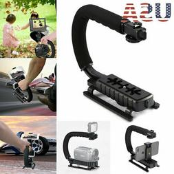 Pro Stabilizer C/U Shape Bracket Video Camera Grip Handheld