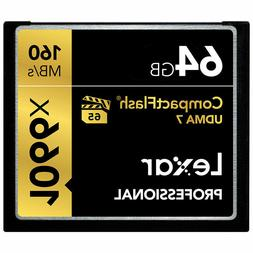 Lexar Professional 64GB Compact Flash 160MB/s CF Memory Card