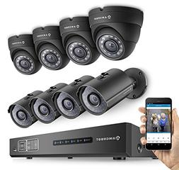 Amcrest ProHD 1080P 8CH Video Security System -  x 2.1-Megap
