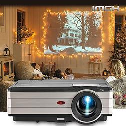 EUG Video Projectors 3500 Lumen Full HD 1080P Support TFT LC