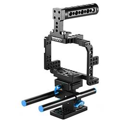 Andoer Protective Video Camera Cage Stabilizer Protector w/T