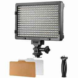 Neewer PT-308S LED 5600K 20W Dimmable On-camera Video Light