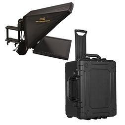 Ikan PT3700 Teleprompter & Hard Case Travel Kit, Black