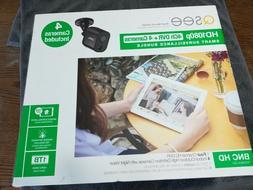 Q-See 8Ch HD1080p DVR + 4 Cameras Records 1TB Video Surveill