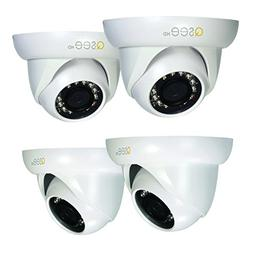 Q-See QCA7202D-4 720p High Definition Analog, Plastic Housin