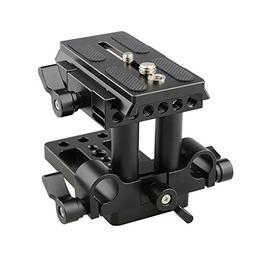 CAMVATE Quick Release Mount Base QR Plate for Manfrotto 501/