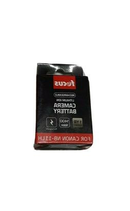 Focus Rechargeable Camera Battery for Canon NB-11LH 1400MAH