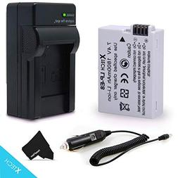 High Capacity LP-E8/LPE8 Battery and Battery Charger for Can