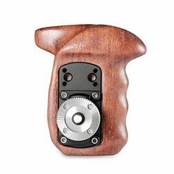 SmallRig Right Side Rosette Wooden Handle for Shoulder Mount