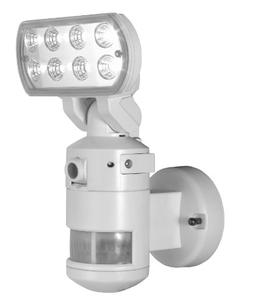 NightWatcher Robotic Security Light with Camera-LED