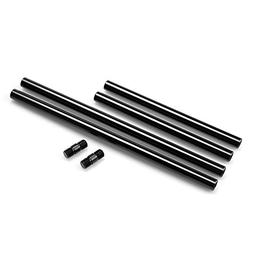 SMALLRIG 15mm Rods Pack with M12 Thread Rod Cap Connectors A