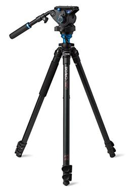 Benro S6 Video Head and Aluminum Flip Lock Legs Kit