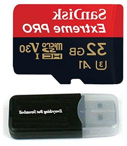 a05536e456a 32GB Sandisk Extreme Pro 4K Memory Card works with DJI Mavic