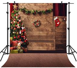 OUYIDA 10X10FT Seamless Christmas Theme CP Pictorial Cloth P