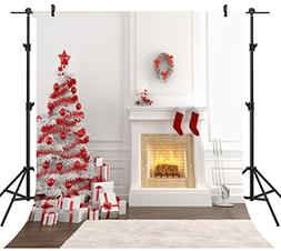 OUYIDA 8X8FT Seamless Christmas Theme Pictorial Cloth Custom