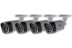720p HD Security Cameras with Night Vision 4 Pack