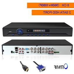 Security DVR, JOOAN 8 Channels H.264 Network Full D1 960H Mo