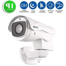 A-ZONE Security Camera PTZ 1080P HD IP Mini PTZ Dome Camera